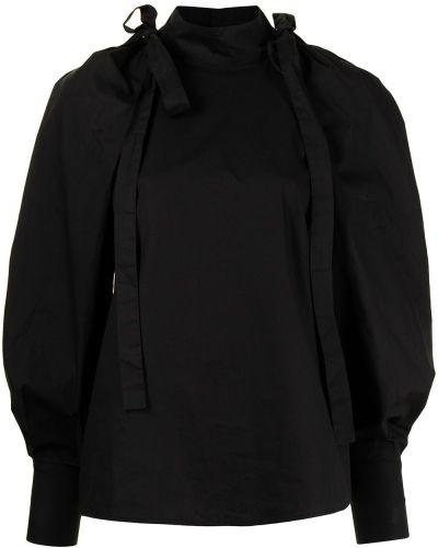 Хлопковая блузка - черная Alice Mccall