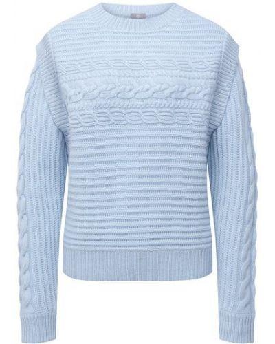 Синий кашемировый свитер Ftc