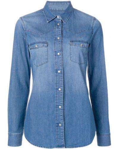 Приталенная рубашка - синяя Notify