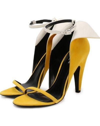 Босоножки на каблуке на шпильке на высоком каблуке Calvin Klein 205w39nyc