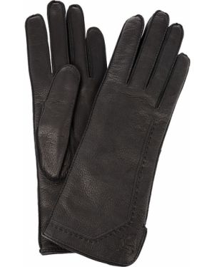 Кожаные перчатки с шерстяной подкладкой шерстяные Bartoc