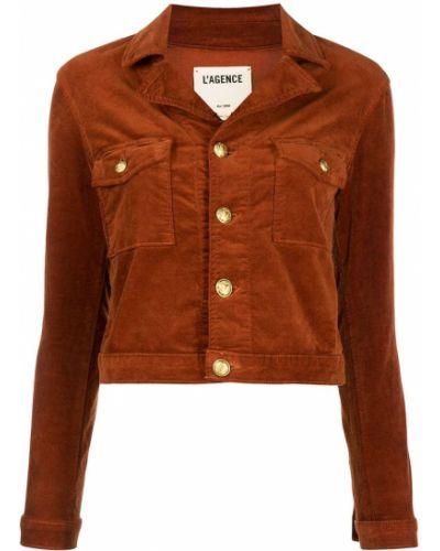Куртка вельветовая - оранжевая L'agence