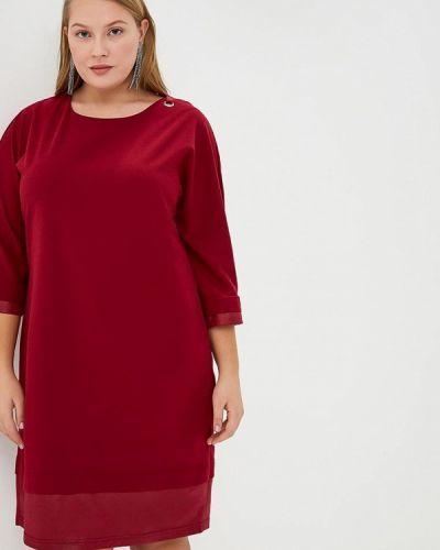 Платье бордовый красный Max&style