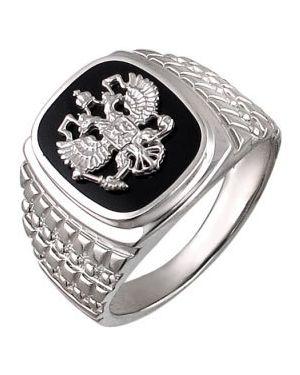 Кольцо серебряный эстет