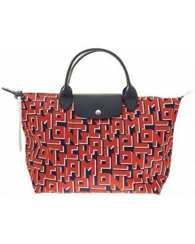 Czerwona torebka Longchamp
