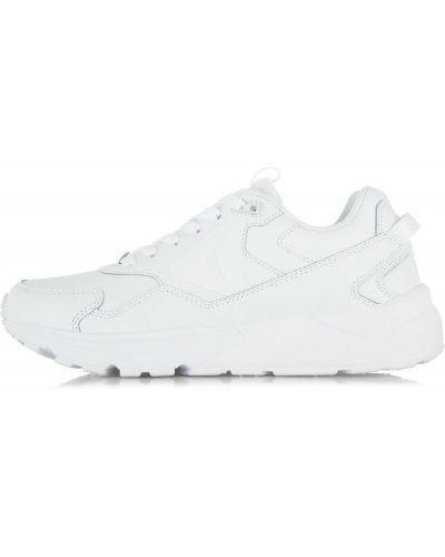 Белые кроссовки на шнуровке Demix