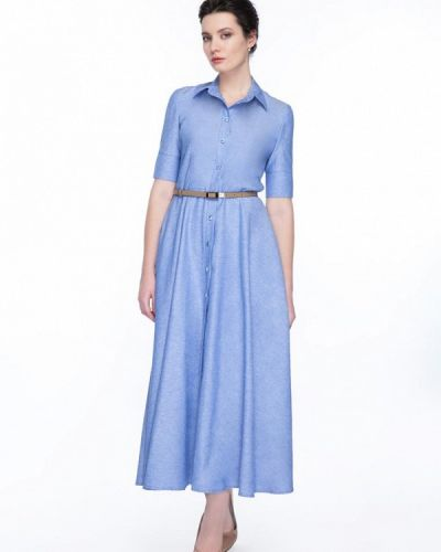 Голубое платье Gregory