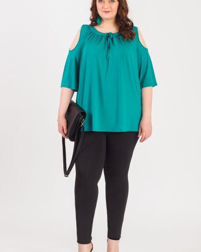 Блузка с рукавом 3/4 блузка-трапеция Lacy_plus