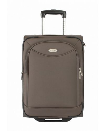 Коричневый чемодан Edmins