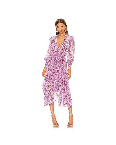 Платье с поясом на пуговицах платье-рубашка Misa Los Angeles