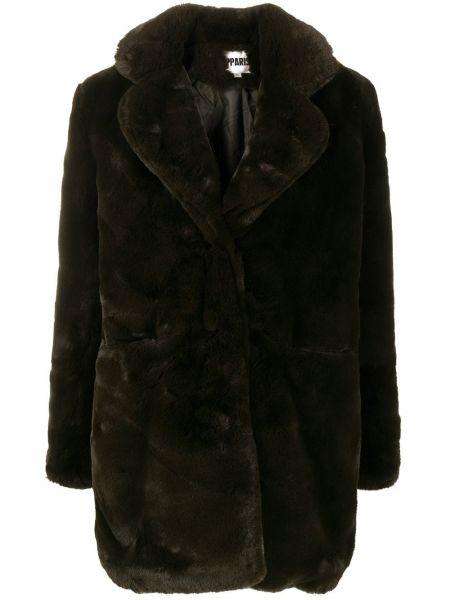 Długi płaszcz krótki z kieszeniami Apparis