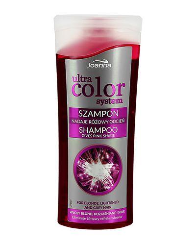 Шампунь для волос розовый Joanna