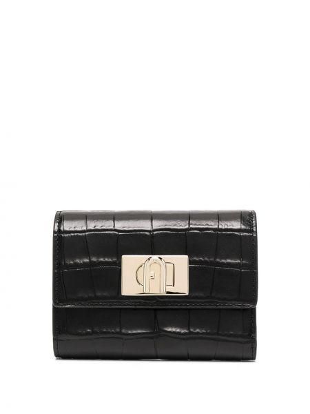 Кожаный кошелек - черный Furla