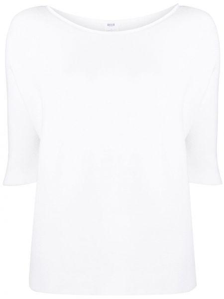 Biały pulower z wiskozy Wolford