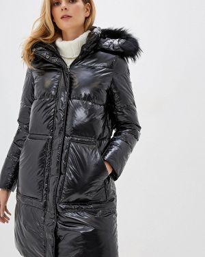 Черная зимняя куртка Baon