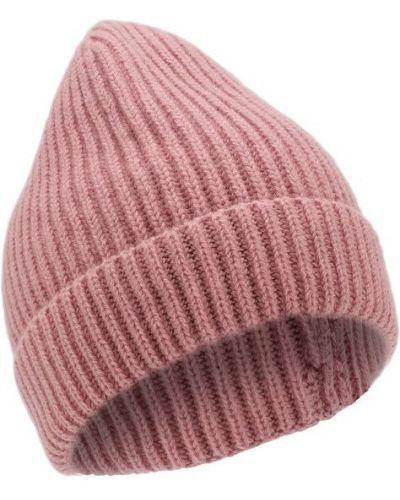 Розовая шапка кашемировая Tsum Collection