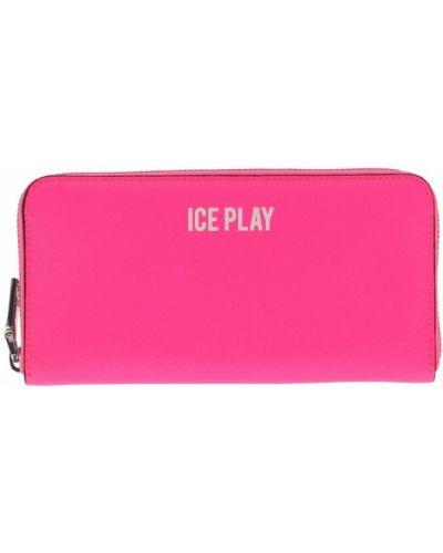 Różowy portfel Ice Play