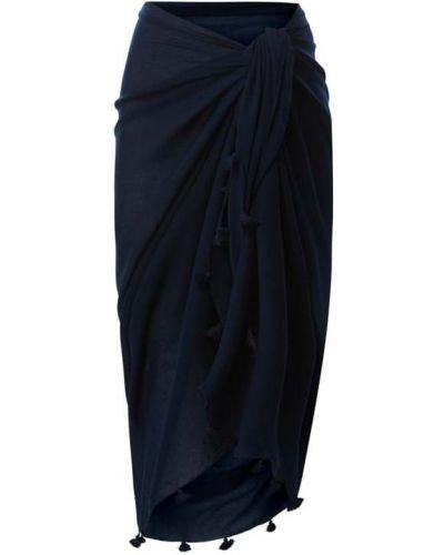 Pareo bawełniany - niebieski Fraas