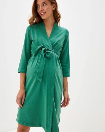 Домашний халат - зеленый Мамин Дом