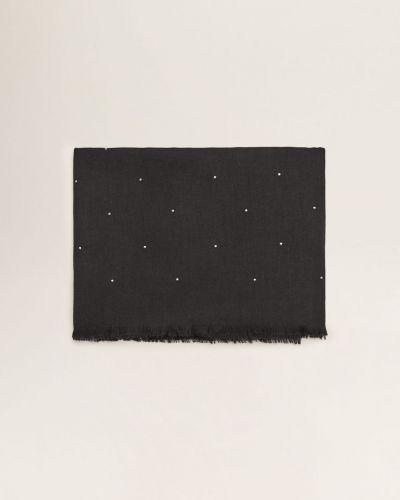 Черный шарф Mango