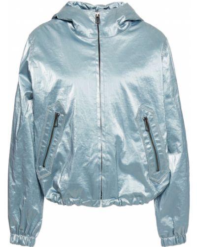 С кулиской синяя куртка с карманами Ps Paul Smith