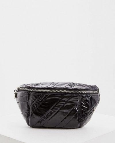 Поясная сумка черная Juicy Couture