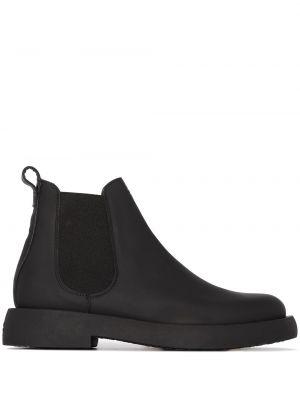 Черные кожаные ботинки челси на каблуке Clarks Originals