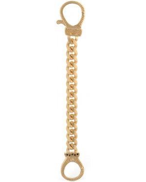 Czarny złoty łańcuch ze złota z diamentem Marco Dal Maso