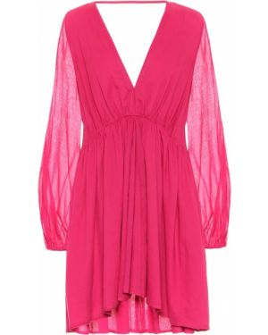 Розовое платье мини Kalita