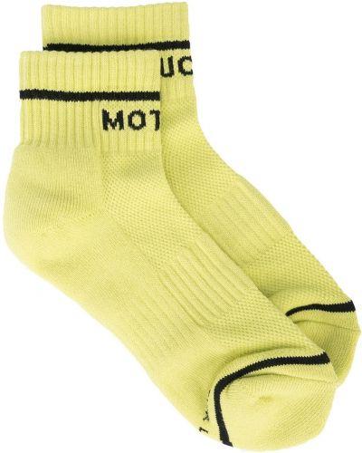 Черные хлопковые носки Mother