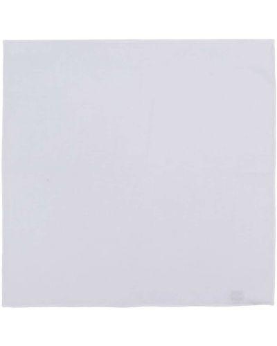 Biały szalik bawełniany Lady Anne