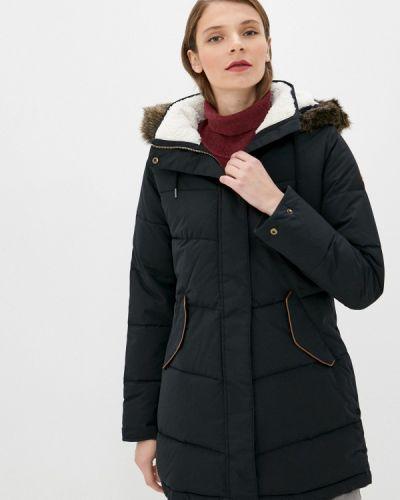 Черная утепленная куртка Roxy