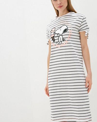 Домашнее белое платье Women'secret