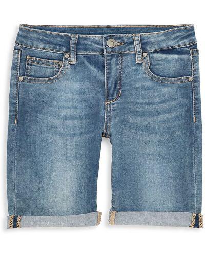 Хлопковые синие джинсы с карманами Joe's Jeans