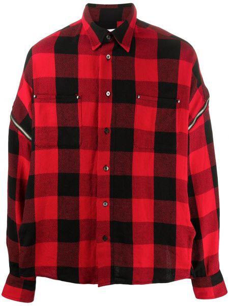 Koszula z długim rękawem klasyczna z kieszeniami Facetasm