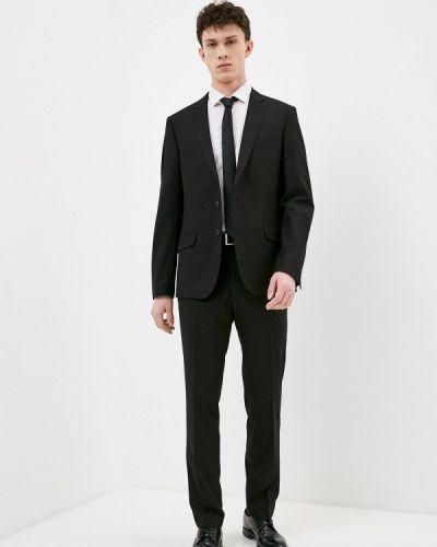 Костюмный черный костюм классический Absolutex