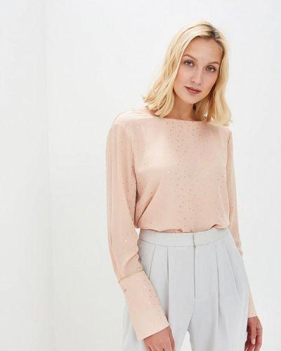 Розовая блузка с длинным рукавом Sweewe