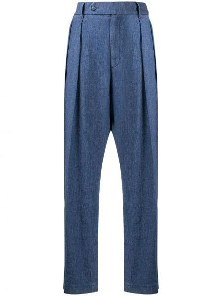 Брюки с завышенной талией плиссированные брюки-хулиганы Barena