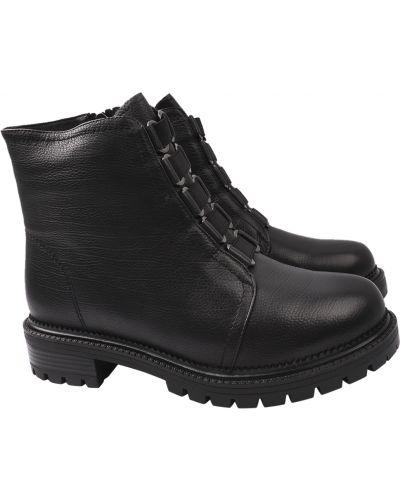 Кожаные ботинки - черные Lady Marcia