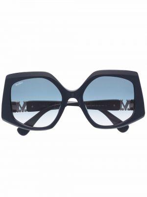 Солнцезащитные очки с логотипом - синие Max Mara