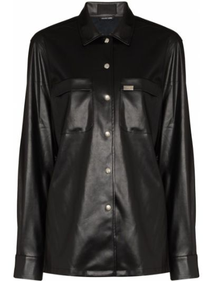 Czarna koszula srebrna Rta