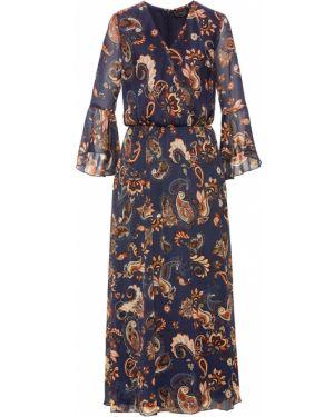 Платье макси шифоновое Bonprix