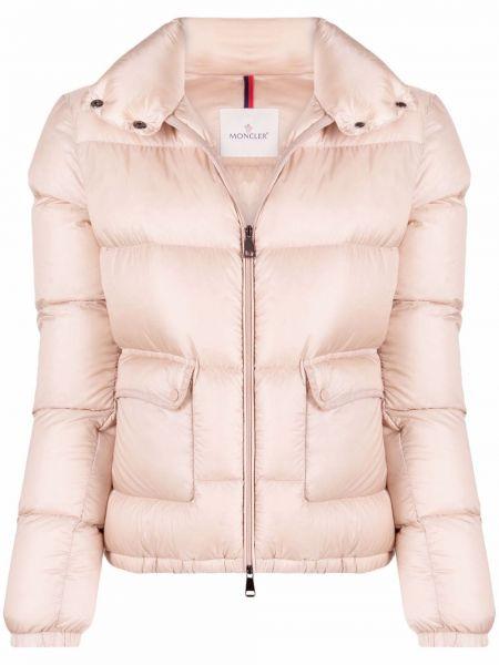 Różowa kurtka Moncler Grenoble