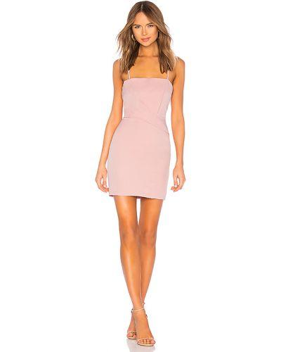 Z paskiem różowy sukienka mini z zamkiem błyskawicznym na paskach Superdown