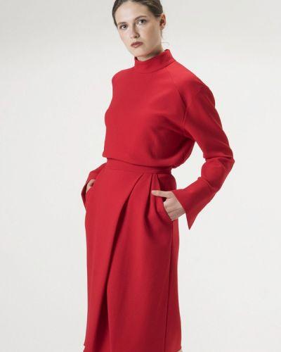 Юбочный костюм красный Белка