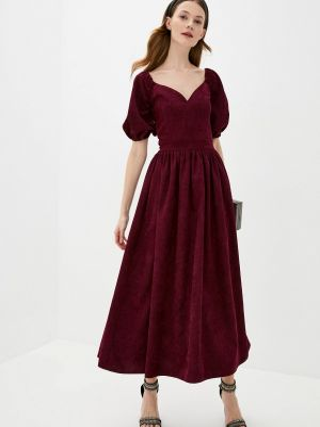 Бордовое платье Lipinskaya Brand