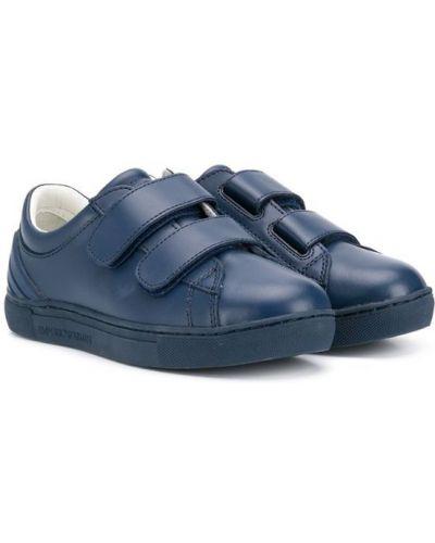 Кеды синий Emporio Armani Kids