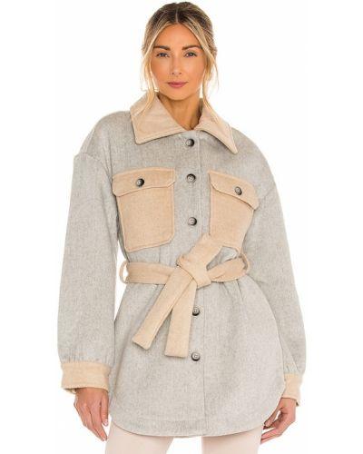 Шерстяная куртка винтажная с карманами Line & Dot