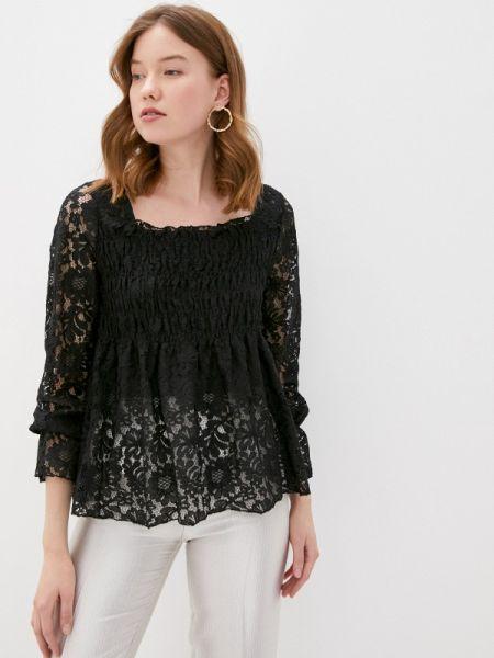 Черная блузка с длинным рукавом Care Of You