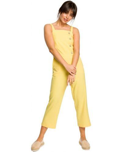 Kombinezon materiałowy - żółty Be